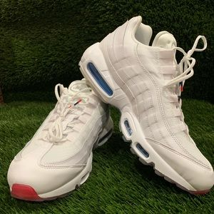"""🌟Nike Air Max 95 Running """"4th Of July"""" - White -"""